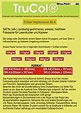 Beidseitig 125 Blatt Din A3 250g/m² seidenmatt gestrichenes Weißes (Silk Coated) Fotopapier Doppelseitig für Digitale Drucksysteme Farb- LASERDRUCKER und KOPIERER