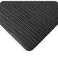 Wearwell 381.18x3x5BK Standard Corrugated Runner Mat, Vinyl, 91 cm x 152 cm, Black