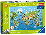 Ravensburger Endangered Animals, 60pc Giant Floor Jigsaw Puzzle