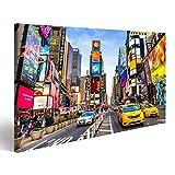 islandburner Bild Bilder auf Leinwand New York City - DEC 01 Times Square, ist eine geschäftige touristische Kreuzung Wandbild Leinwandbild Poster DLJ