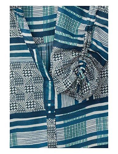 Cecil Damen Bluse Blau (Deep Petrol Blue 31087)