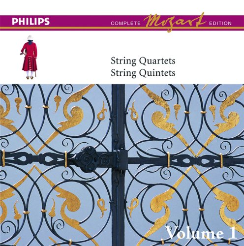 Mozart: String Quartet No.10 in C, K.170 - 1. Andante