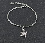 Nikgic tortoise Anklets Chain Pendant Ankle Bracelet Foot Chain for Girls Gifts