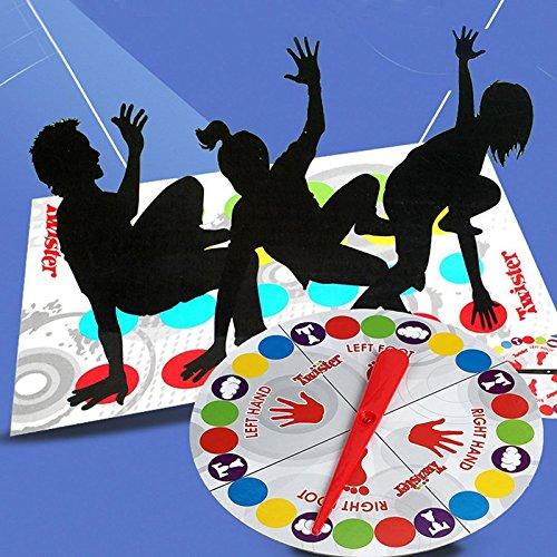 Ocama Tappetini Giochi Fun game Twister educativo per mosse di sport per bambini