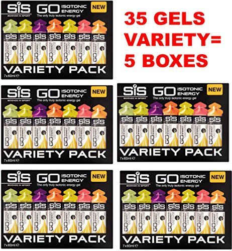 Science in Sport Go Isotonische Energie Gele - Packung 35s (VARIETÄT 5 BOXEN)