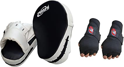 PROSPO Focus Pad Curved with Hand Wrap