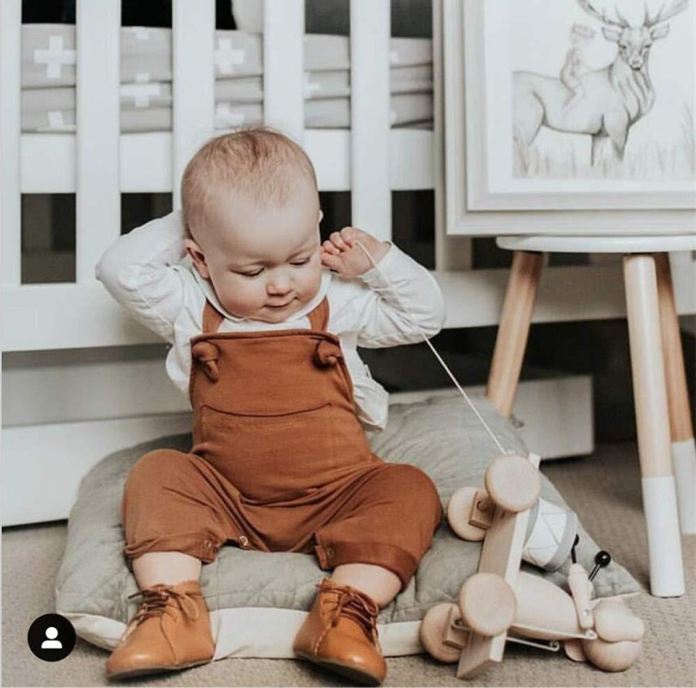 Loalirando Mono Bebé Recién Nacido Niña Niño sin Mangas Mameluco Pantalones Peto Cabestro Monos Jumpsuit 3