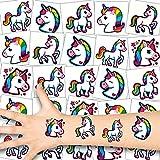 German Trendseller® 36x Tatouages Licorne Enfant - Kit - Licornes - Party┃ Anniversaire Enfant┃Petit Cadeau┃36 Licornes Magiques - Unicorn Tatouages
