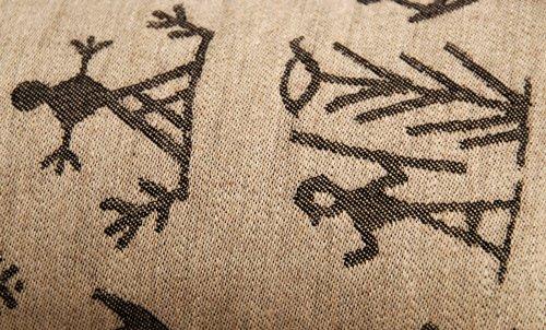 Saunakissen Motiv Lappland dunkel - 2