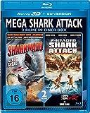 Mega Shark Attack-2 Filme in Einer Box [Blu-ray] [Import anglais]