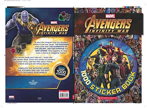 Marvel Avengers Infinity War - 1000 Sticker Book
