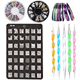 kit de accesorios de decoracin de uas x rollos de cintas adhesivas para uas
