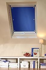 Clothink Thermo Sonnenschutz für Dachfenster | Hitzeschutz für Innen | Ohne Bohren Ohne kleben mit 6 Stabil Saugnäpfe | Große Auswahl für Velux + Roto Fenster | 1Stück