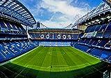 Poster Stamford Bridge Stadium Stade Football Wall Art 02