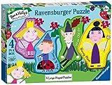 Ravensburger Ben & Holly 4 Puzzles de Sierra de Gran Forma (10,12,14,16pc)