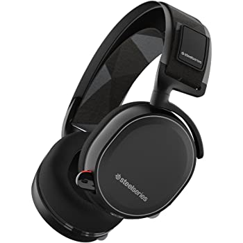 SteelSeries Arctis 7, Casque Gaming, sans Fil, DTS 7.1 Surround PC, PC/Mac / Playstation 4 / Android/iOS / VR - Noir
