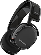 SteelSeries Arctis 7, Drahtlos Gaming-Headset, DTS 7.1 Surround für PC, PC / Mac / PlayStation 4 / Android / iOS / VR, Farbe Schwarz