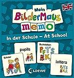 Mein Bildermaus-Memo - Englisch - In der Schule - At School