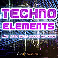 Techno Elements - Over 1500 Techno Sounds and Loops [Apple Loops/AIFF (24Bit)] [DVD non Box]