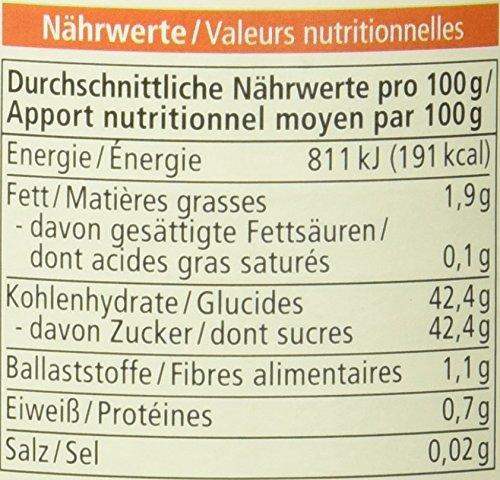 Alnatura Bio Fruchtaufstrich Sanddorn-Orange, vegan, 6er Pack (6 x 250 g) - 2