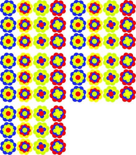 Pegatinas Pril Flores Pril Flores 60x 3,5cm Mega XXL pack