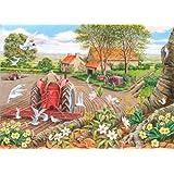 "Big 500 Piece Jigsaw Puzzle - Red Harrows ""NEW FEBRUARY 2014"""