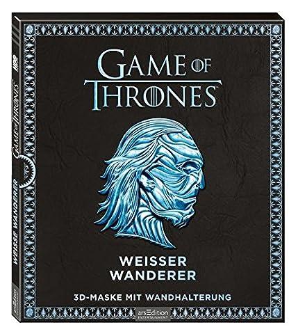 Game of Thrones - Weißer Wanderer: 3D-Maske mit Wandhalterung