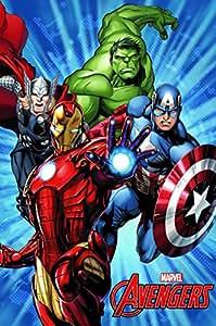AVENGERS - Couverture polaire Hulk Avengers hiver 2015