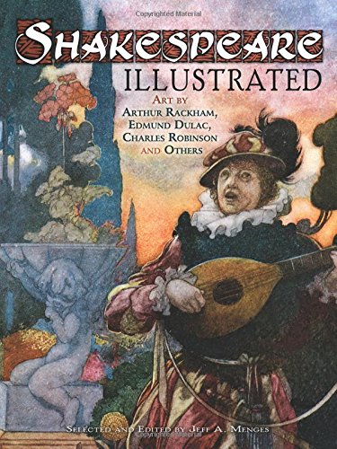 Shakespeare Illustrated (Dover Fine Art, History of Art) - Edmund Dulac