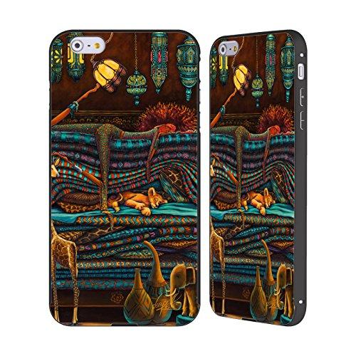 Ufficiale Denyse Klette Madre Celtica La Principessa E Il Pisello Nero Cover Contorno con Bumper in Alluminio per Apple iPhone 6 Plus / 6s Plus Africa