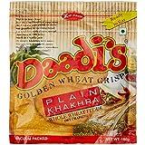 Daadi's Golden Wheat Crisps Plain Khakhra (Pack of 3)