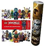 LEGO® NINJAGO® Lexikon der Minifiguren + Mit exklusiver Minifigur + LEGO® NINJAGO® Poster by Collectix