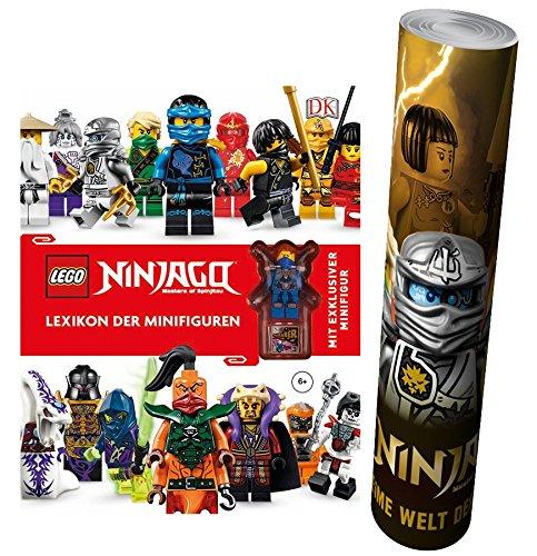 ikon der Minifiguren + Mit exklusiver Minifigur + Lego® Ninjago® Poster by Collectix ()