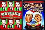 Comedy Christmas Legends Abbot & Costello Show + Red Skelton Classics DVD Holiday Pack Celebrate the Season Colgate Comedy Hour