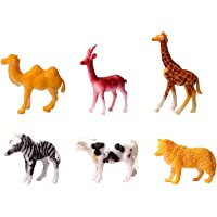 BKDT Marketing Wildlife Animal Toy Set Figure Early Education Childern Realistic Animal Toy Set Figure for Kids (Animal…