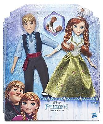 Disney Frozen - Muñecas Anna y Kristoff (Hasbro B5168EU4) por Hasbro Spain