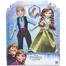 Frozen - Muñecas Anna y Kristoff (Hasbro B5168EU4)