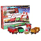 Deluxe Christmas Tree Train Set with Realistic Sound by E Bargains UK