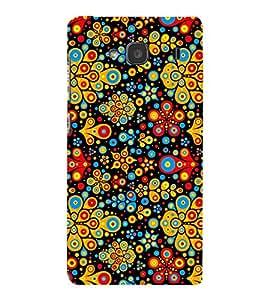 Fiobs Designer Back Case Cover for Xiaomi Redmi 2 :: Xiaomi Redmi 2S :: Xiaomi Redmi 2 Prime (Floral Pattern Design)