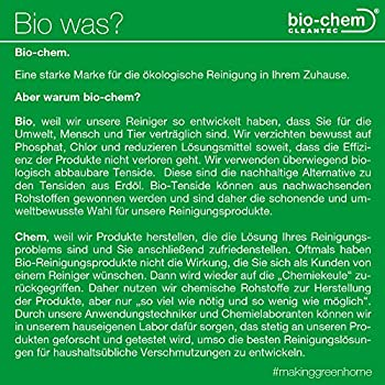 bio-chem Spray bio anti-odeurs permettant d'éliminer les odeurs d'urine animale (chiens, chats?), 500 ml Neutraliseur d'odeurs biologique et vegan