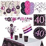 DekoGuru® Geburtstags-Set Pink