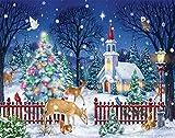 Vermont Christmas Ruhige Nacht Adventskalender (Countdown zu Weihnachten)
