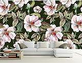 Yosot Benutzerdefinierte Blumen Tapeten 3D Hand Gezeichnet Und Frische Blumen Malerei Für Das Wohnzimmer Schlafzimmer Tapete-400Cmx280Cm