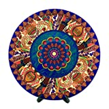 #7: Egyptian Tranquility Decorative Plate 8