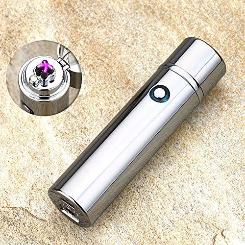 92 Usb (Exing Feuerzeug USB Aufladbar Winddicht Zinklegierung 92x23 MM)