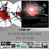 Frakture - zwei Disc-Set, WAV-Format - 7500 SFX - Ableton Live / Cubase / FL Studio / Native Instruments / Logic Pro / Studio One / Sony Acid etc..