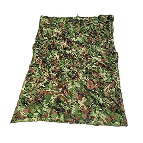 DYFYMXParasol filets de protection solaire, des filets d'ombrage camouflage perméable à l'air de camouflage thermique extérieur anti bush aérienne maille filet de protection Cacher