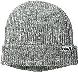 Neff Herren Accessoires/Beanie Fold Heather Grau Einheitsgröße