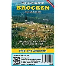 Brocken: Rad- & Wanderkarte (wetterfest)