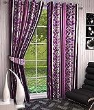 Optimistic Home Furnishing- -Dusr -Door Curtain-(set of )